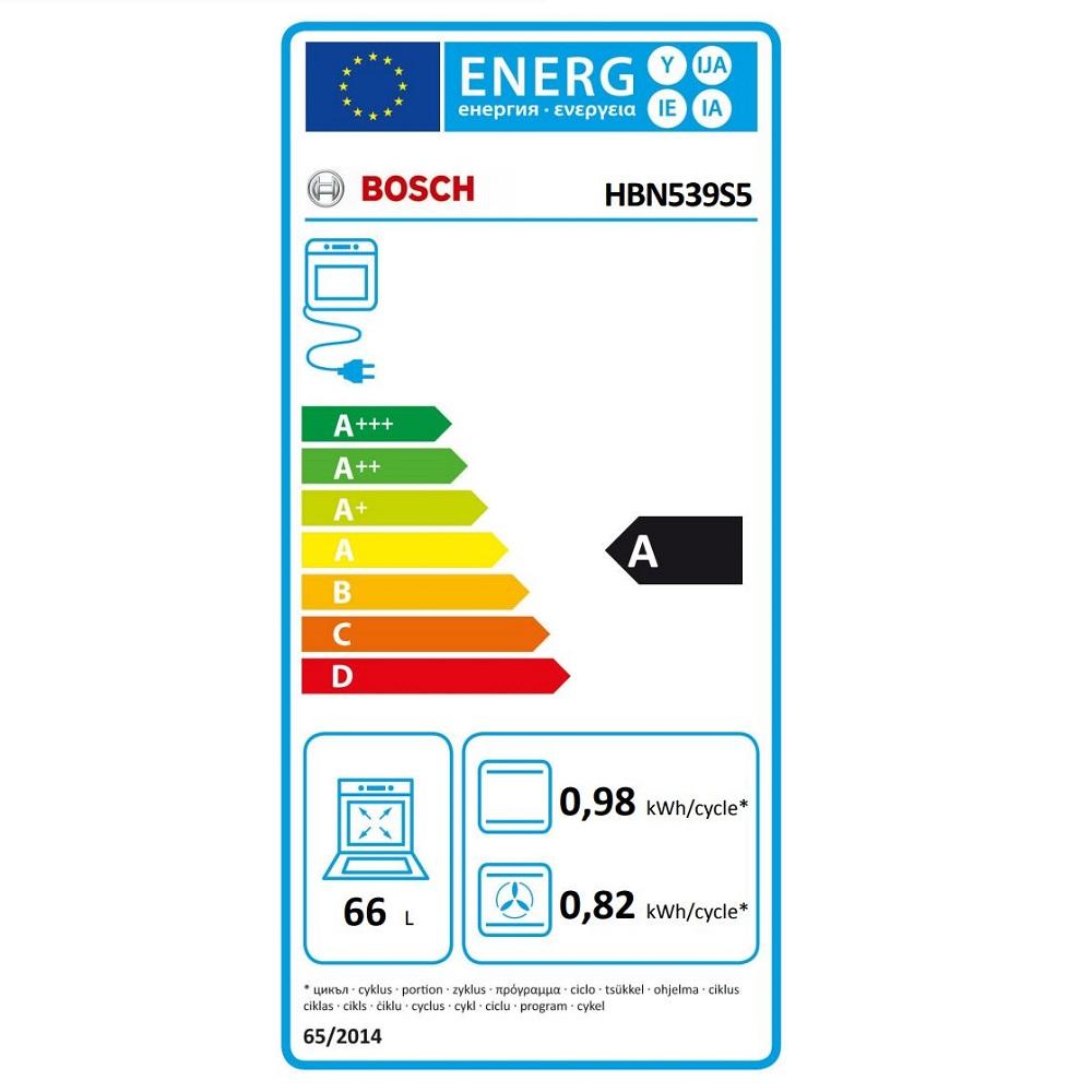 Bosch cuptor electric energy HBN539S5