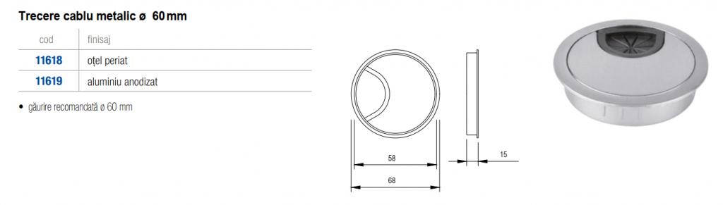 trecere-cablu-o-60-metalic-dimensiuni